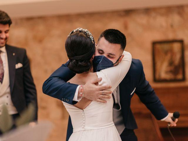 La boda de David y Amor en Belmonte, Cuenca 152