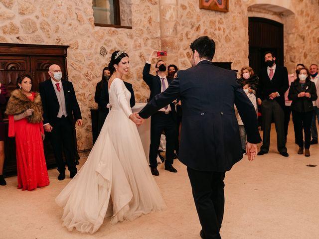 La boda de David y Amor en Belmonte, Cuenca 169