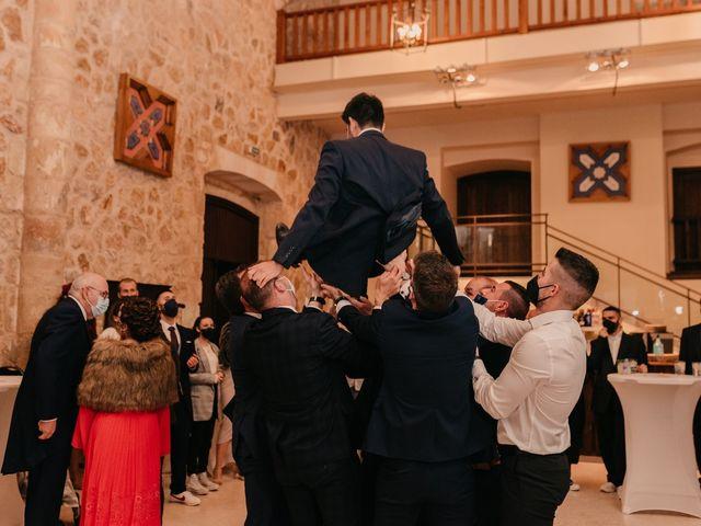 La boda de David y Amor en Belmonte, Cuenca 171