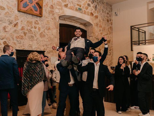 La boda de David y Amor en Belmonte, Cuenca 172