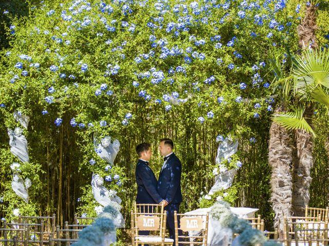 La boda de Eric y Emil