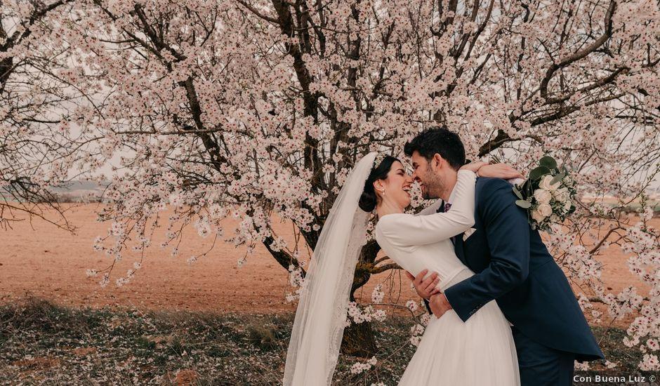 La boda de David y Amor en Belmonte, Cuenca