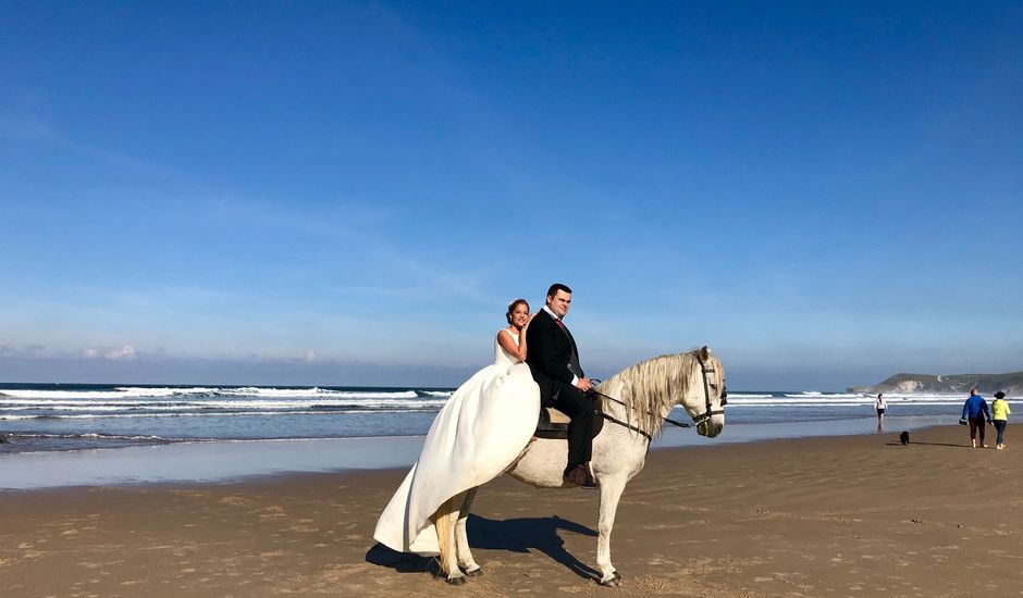 La boda de Manuel  y Jessica  en La Revilla (San Vicente De La Barquera), Cantabria