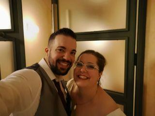 La boda de Carmen Cámara  y Manuel Saavedra  1