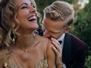 La boda de Nicola y Tom