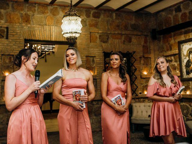 La boda de Tom y Nicola en Toledo, Toledo 104