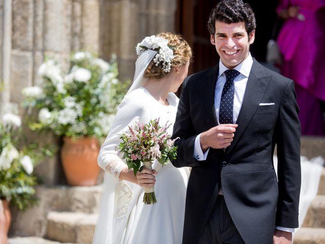 La boda de Luís y María en Barcarrota, Badajoz 28