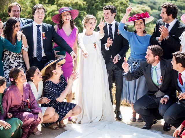 La boda de Luís y María en Barcarrota, Badajoz 56