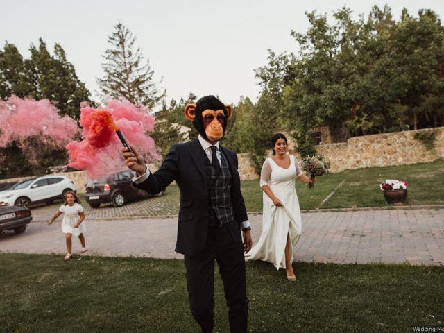La boda de Rodrigo y Maria en Sotosalbos, Segovia 64