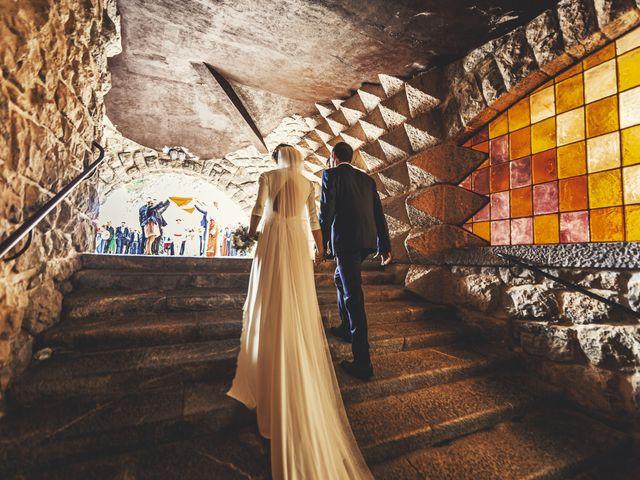 La boda de Dani y Miren en Aranzazu, Guipúzcoa 25