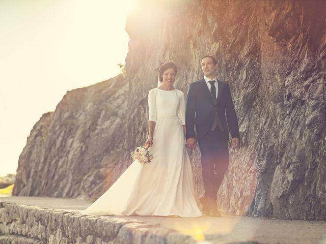 La boda de Dani y Miren en Aranzazu, Guipúzcoa 1