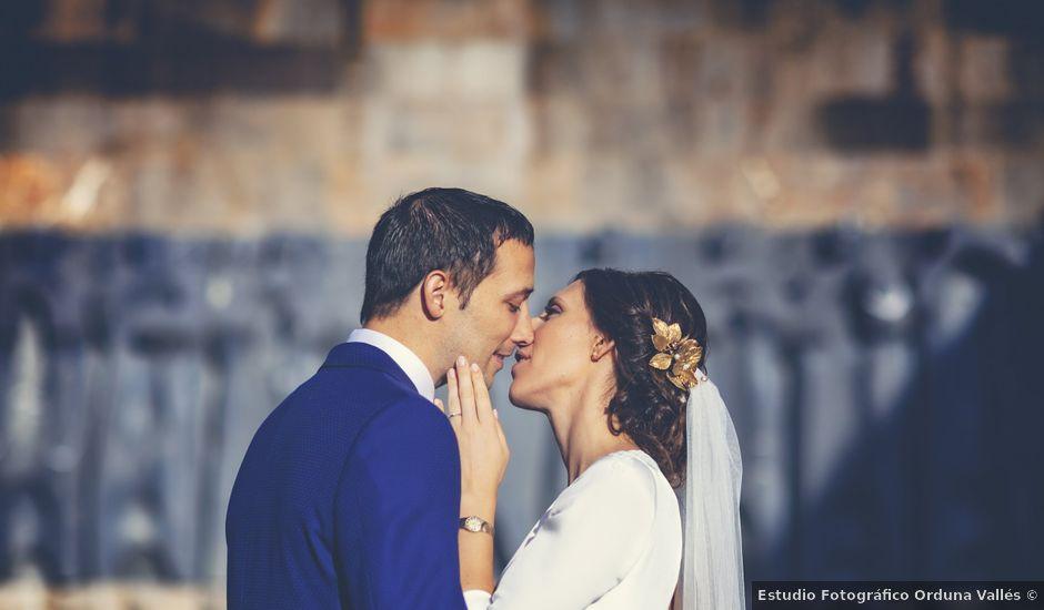 La boda de Dani y Miren en Aranzazu, Guipúzcoa