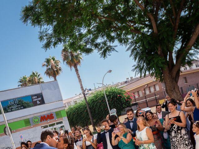 La boda de Pablo y MªÁngeles en Málaga, Málaga 32