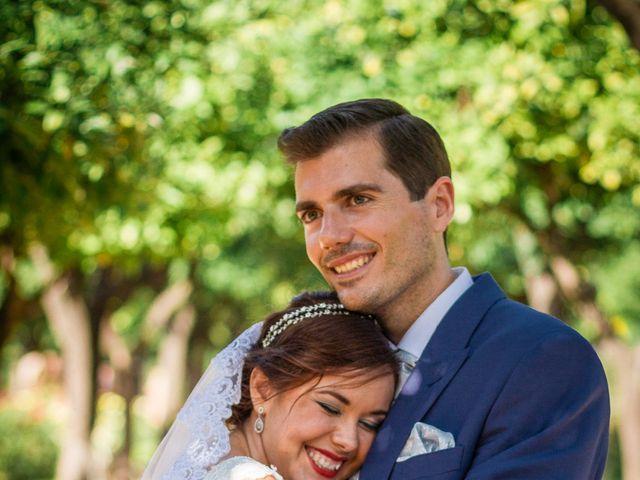 La boda de Pablo y MªÁngeles en Málaga, Málaga 38