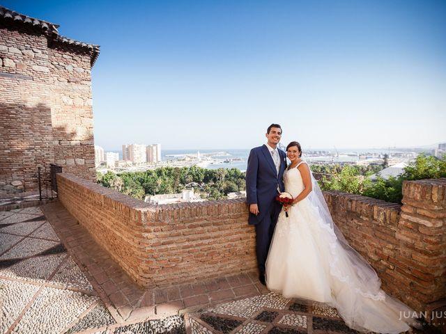 La boda de Pablo y MªÁngeles en Málaga, Málaga 42