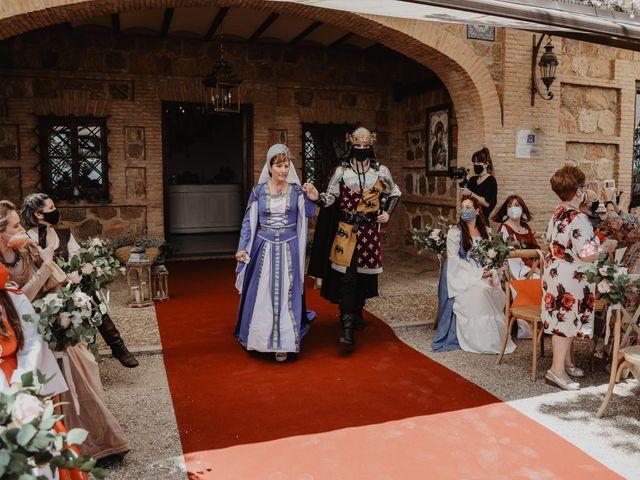 La boda de Guillermo y Mercedes en Toledo, Toledo 39