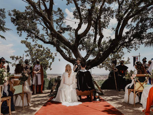 La boda de Guillermo y Mercedes en Toledo, Toledo 49