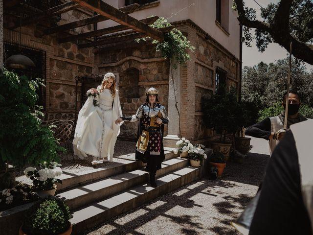 La boda de Guillermo y Mercedes en Toledo, Toledo 57