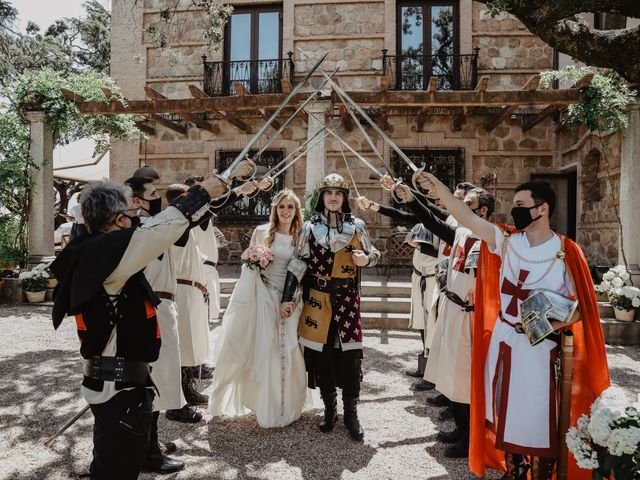 La boda de Guillermo y Mercedes en Toledo, Toledo 58