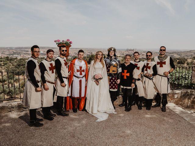 La boda de Guillermo y Mercedes en Toledo, Toledo 70