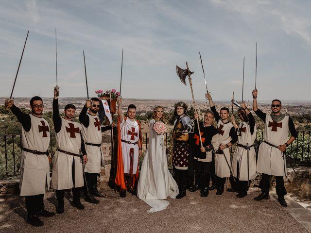 La boda de Guillermo y Mercedes en Toledo, Toledo 71
