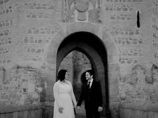 La boda de Ismael y Tatiana en Toledo, Toledo 33