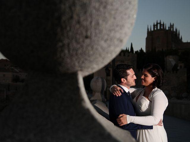 La boda de Ismael y Tatiana en Toledo, Toledo 42