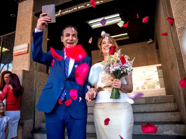 La boda de David y Chus en Rivas-vaciamadrid, Madrid 12