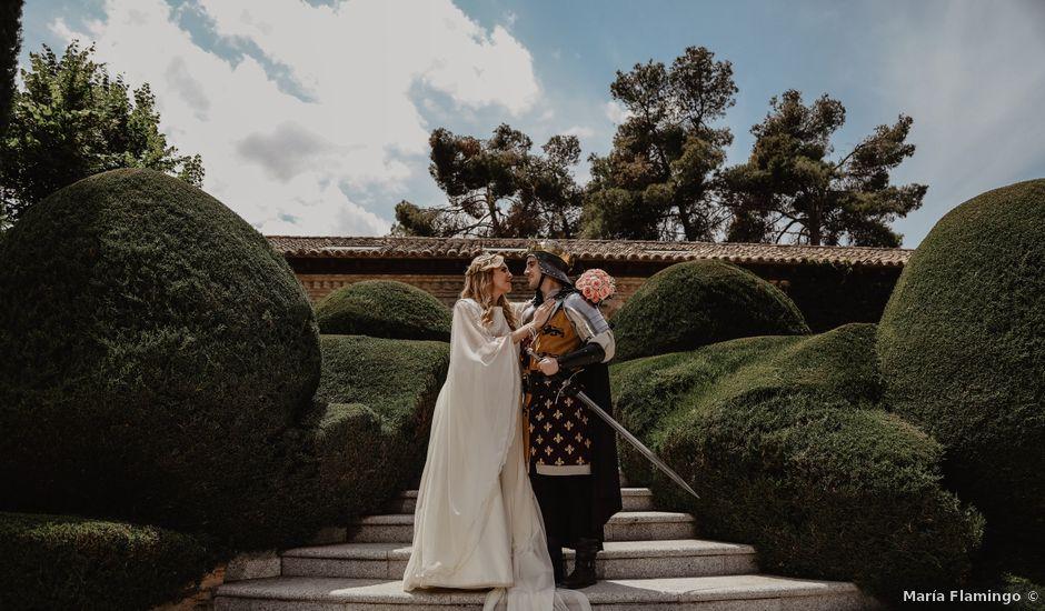 La boda de Guillermo y Mercedes en Toledo, Toledo