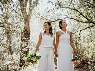 La boda de Monica y Edith