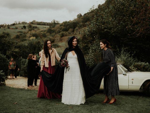 La boda de Javi y Cova en Grado, Asturias 40
