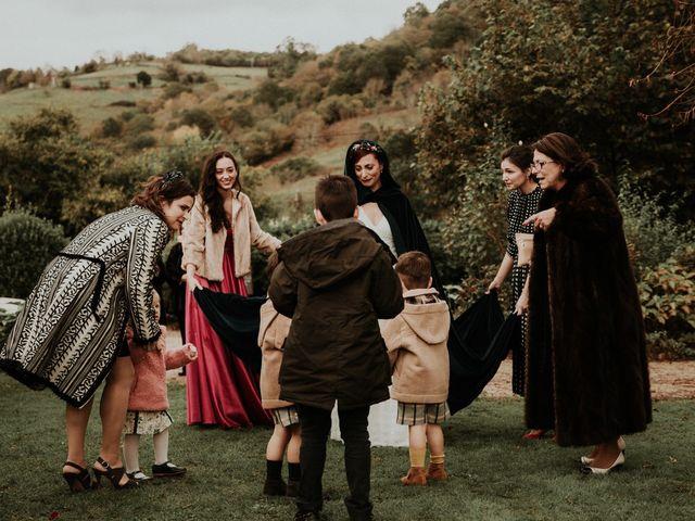 La boda de Javi y Cova en Grado, Asturias 43