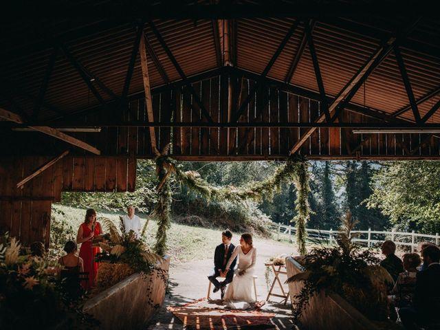 La boda de Joseba y Izaskun en Markina-xemein, Vizcaya 30