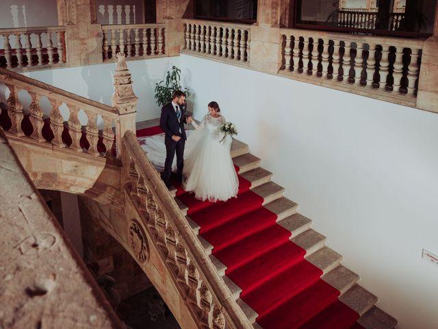 La boda de Myriam y Álvaro en Salamanca, Salamanca 40
