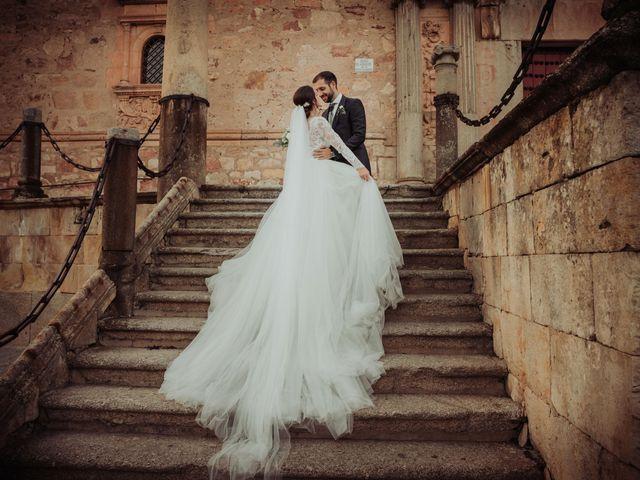 La boda de Myriam y Álvaro en Salamanca, Salamanca 41