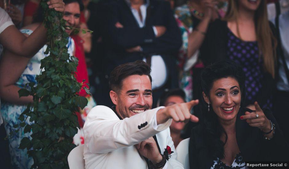La boda de Pablo y Sara en Sober (Casco Urbano), Lugo