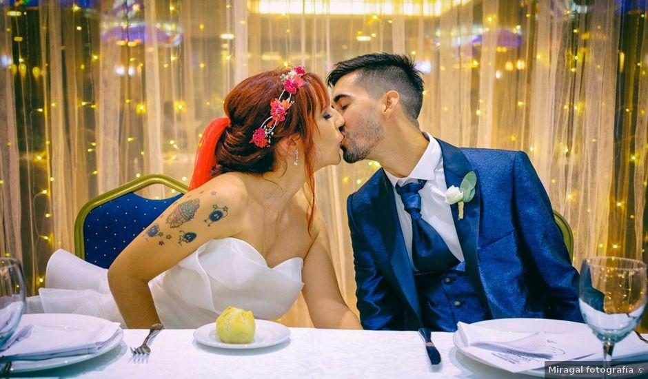 La boda de Miguel y Nerea en Nerja, Málaga