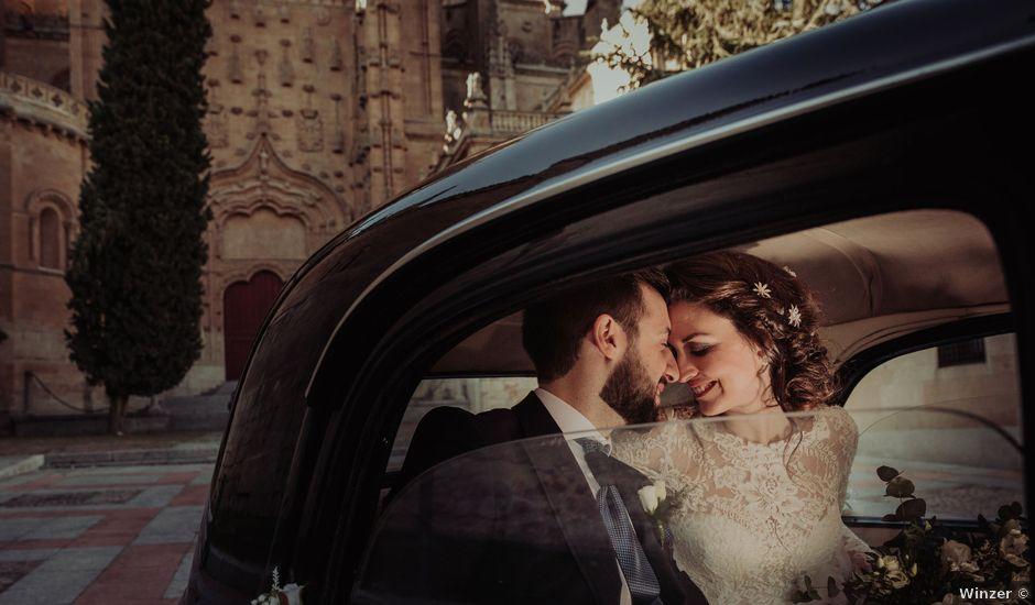 La boda de Myriam y Álvaro en Salamanca, Salamanca