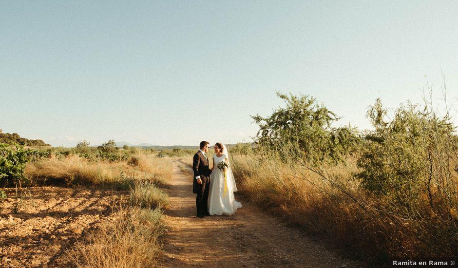 La boda de Hans y Cris en Cintruenigo, Navarra