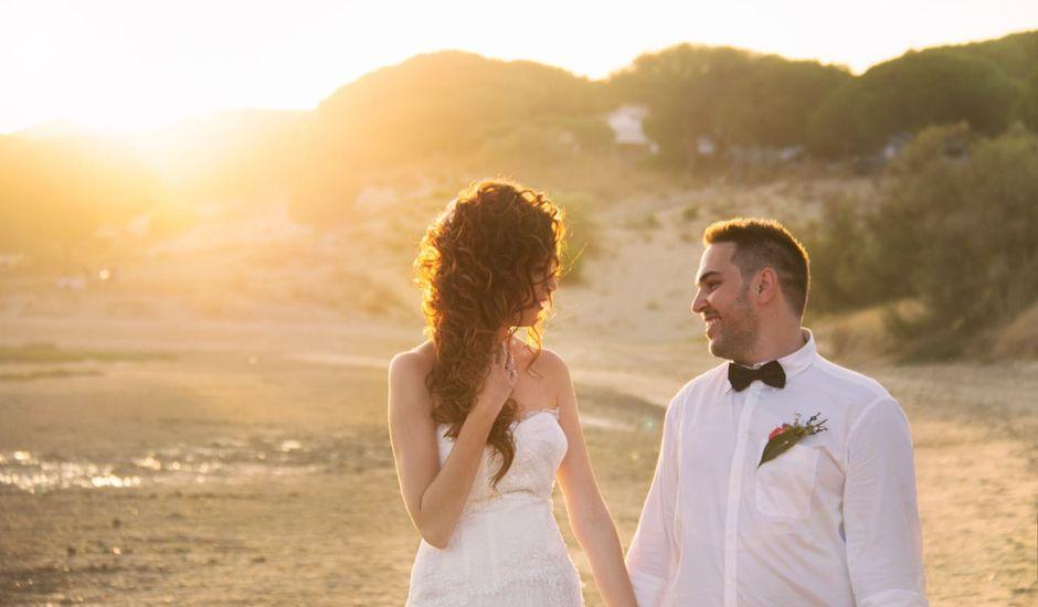 La boda de Israel  y Verónica  en El Rompido, Huelva