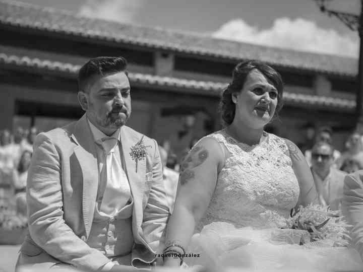 La boda de Carolina y Ruben