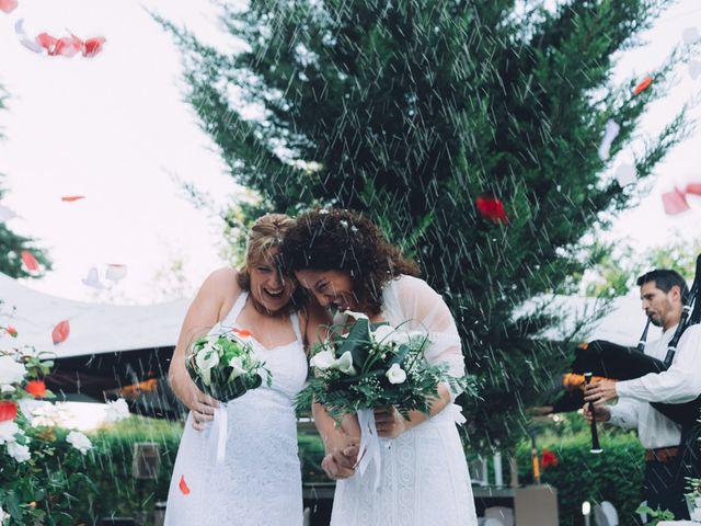 La boda de Virginia y Nolwenn