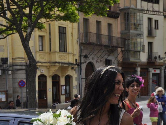 La boda de Esther y Andrés en Segovia, Segovia 18