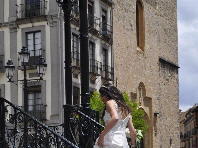 La boda de Esther y Andrés en Segovia, Segovia 7