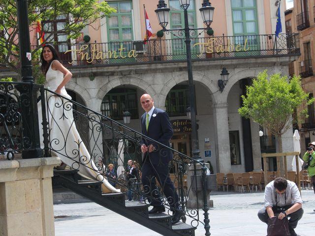 La boda de Esther y Andrés en Segovia, Segovia 24