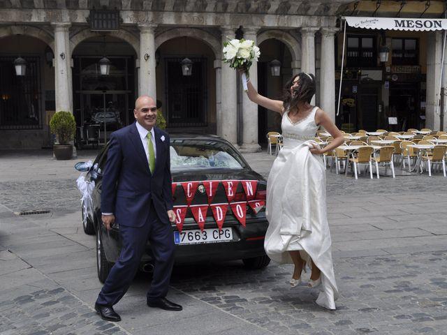 La boda de Esther y Andrés en Segovia, Segovia 1