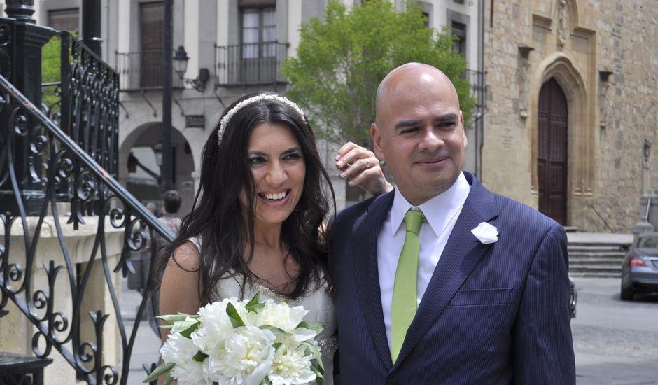 La boda de Esther y Andrés en Segovia, Segovia