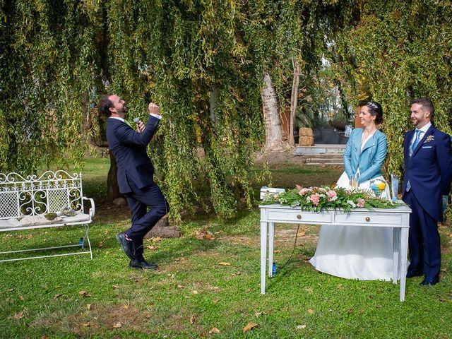 La boda de Sergio y Natalia en Alfajarin, Zaragoza 39