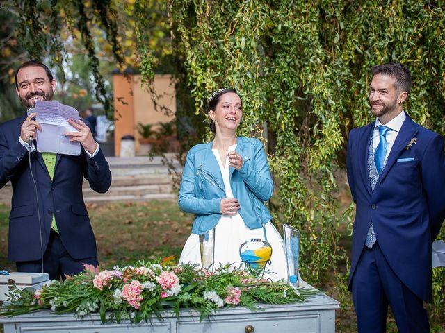 La boda de Sergio y Natalia en Alfajarin, Zaragoza 41