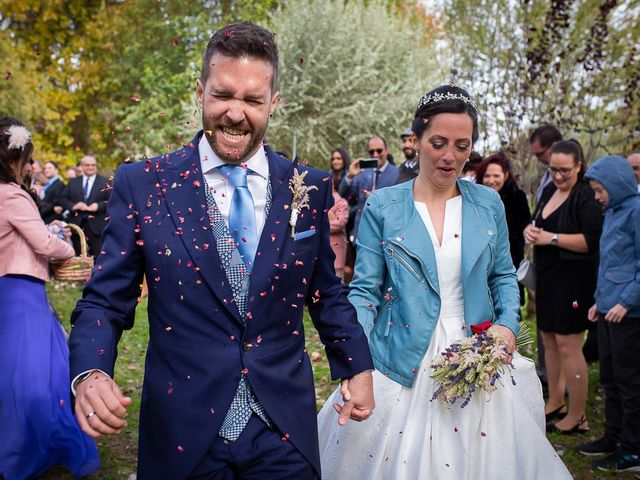 La boda de Sergio y Natalia en Alfajarin, Zaragoza 43